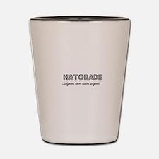 Hatorade Shot Glass