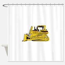 Dozer Shower Curtain