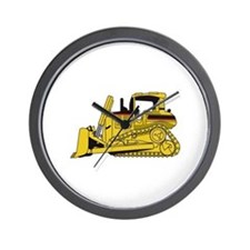 Dozer Wall Clock