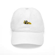 Backhoe Baseball Baseball Cap