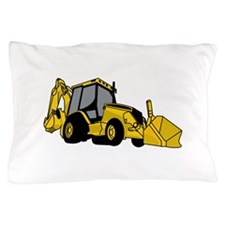 Backhoe Pillow Case
