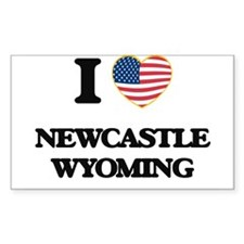I love Newcastle Wyoming Decal