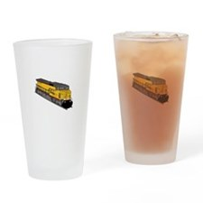 Locomotive 1 Drinking Glass