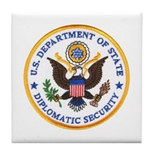 Diplomatic Security Tile Coaster