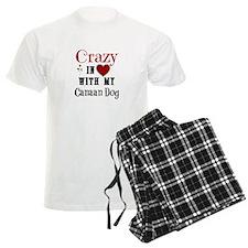 Canaan Dog Pajamas