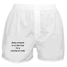 Being cremated Boxer Shorts