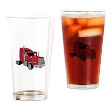 Kenworth Tractor Drinking Glass