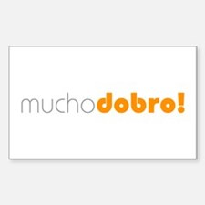 (R) Mucho Dobro! Rectangle Decal