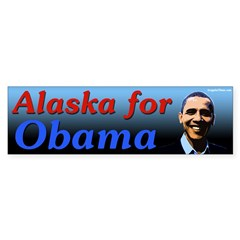 Alaska for Obama bumper sticker