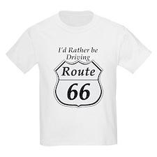 Driving rt 66 T-Shirt