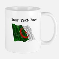 Algeria Flag (Distressed) Mugs