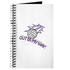 Outta my Way Journal