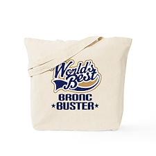 Bronc Buster Tote Bag