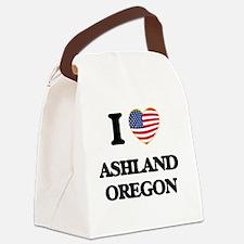 I love Ashland Oregon Canvas Lunch Bag