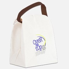 Over the Top Canvas Lunch Bag