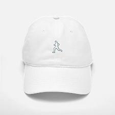 Runner Outline Baseball Baseball Baseball Cap