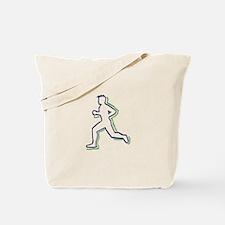 Runner Outline Tote Bag