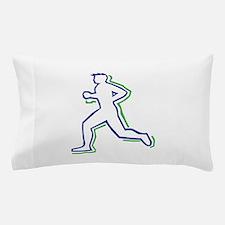 Runner Outline Pillow Case