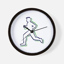Runner Outline Wall Clock