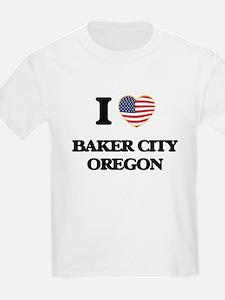 I love Baker City Oregon T-Shirt