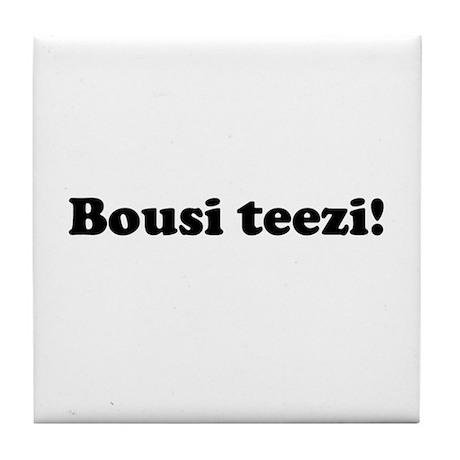 Bousi Teezi Tile Coaster