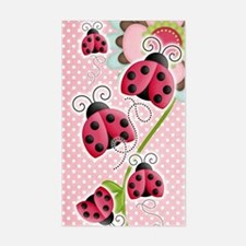 Cute Bugs and insects Sticker (Rectangle)