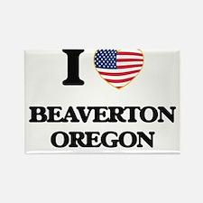 I love Beaverton Oregon Magnets