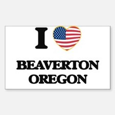I love Beaverton Oregon Decal
