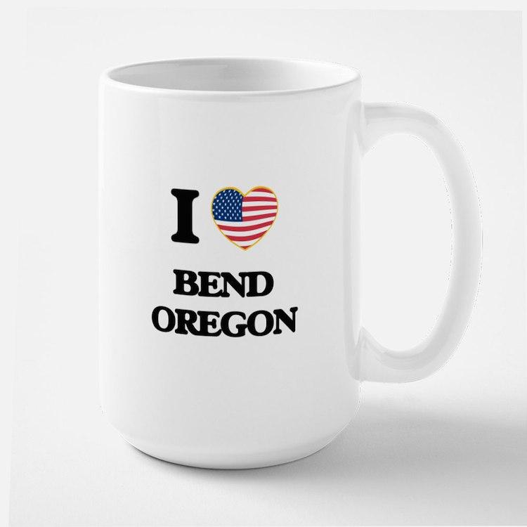 I love Bend Oregon Mugs