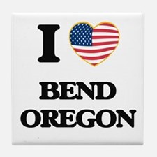 I love Bend Oregon Tile Coaster