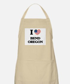 I love Bend Oregon Apron