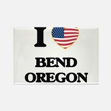 I love Bend Oregon Magnets