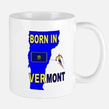 VERMONT BORN Mugs