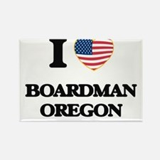 I love Boardman Oregon Magnets