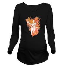 Sonrise Long Sleeve Maternity T-Shirt
