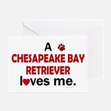 A Chesapeake Loves Me Greeting Card