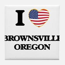 I love Brownsville Oregon Tile Coaster