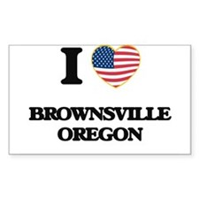 I love Brownsville Oregon Decal