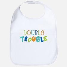 Double Trouble Blues Bib