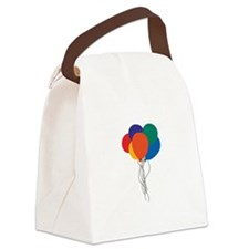 Cluster of Balloons Canvas Lunch Bag