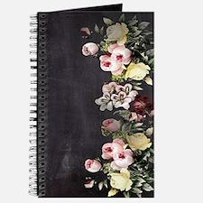 shabby chic flowers Journal
