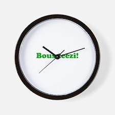 Bous Teezi Wall Clock