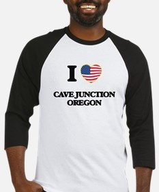 I love Cave Junction Oregon Baseball Jersey