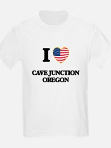 I love Cave Junction Oregon T-Shirt