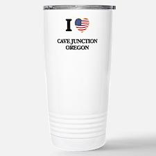 I love Cave Junction Or Travel Mug