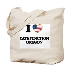 I love Cave Junction Oregon Tote Bag