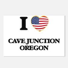 I love Cave Junction Oreg Postcards (Package of 8)