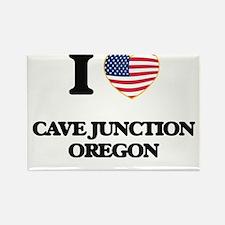 I love Cave Junction Oregon Magnets