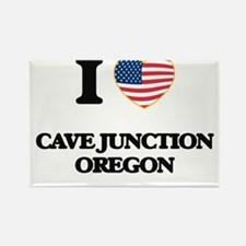 I love Cave Junction Oregon Magnets