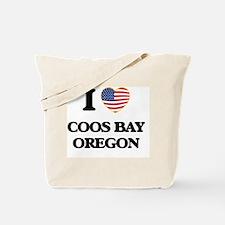 I love Coos Bay Oregon Tote Bag